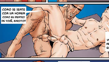 Quadrinhos gays; Hentai; HQ; Cartoon Gay;